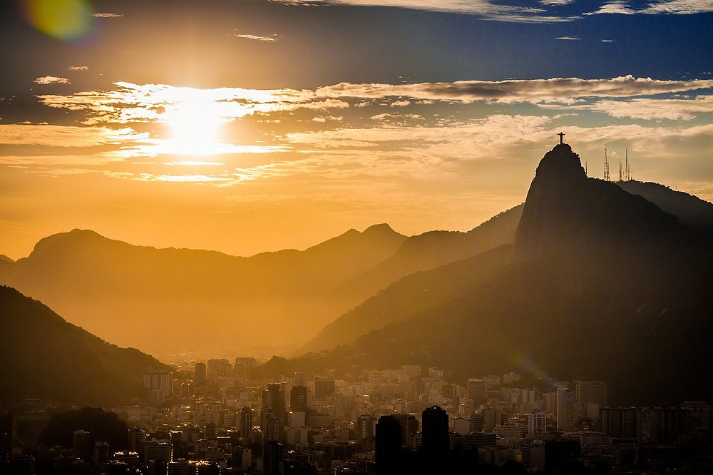 A bela paisagem do Rio em dia de verão  (Foto: Pixabay)