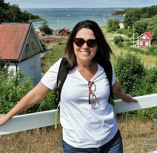 Soraia d'Ávila na Suécia.