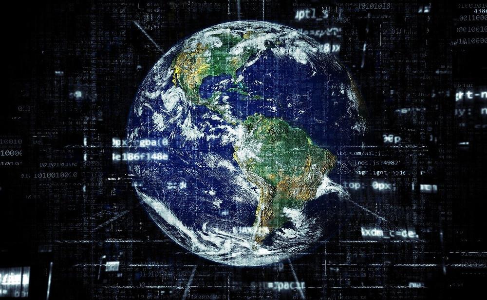 O mundo e internet
