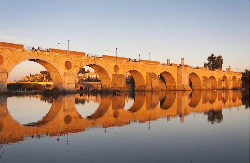 Ponte sobre o rio Guadiana, Pixabay