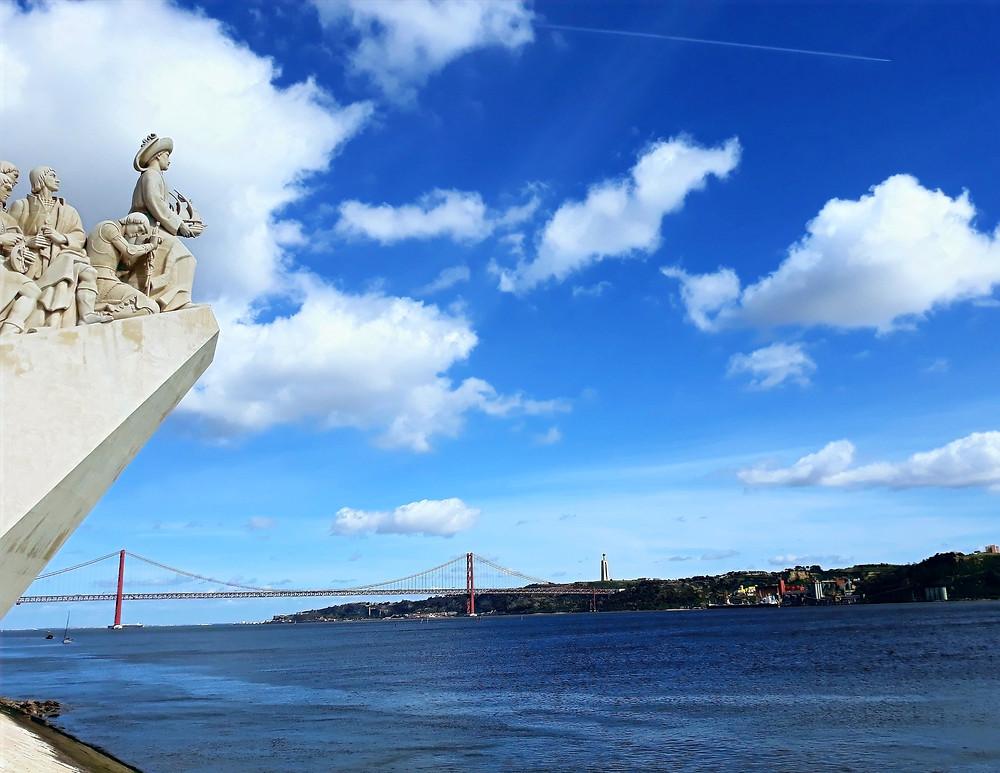Monumento aos Descobridores à beira do rio Tejo, Lisboa, Portugal