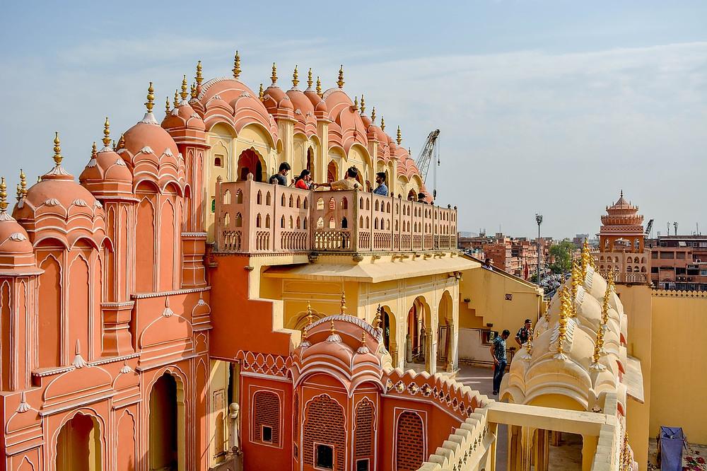 Jaipur, a cidade cor de rosa da Índia