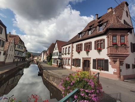 Wissembourg, na fronteira entre a França e a Alemanha