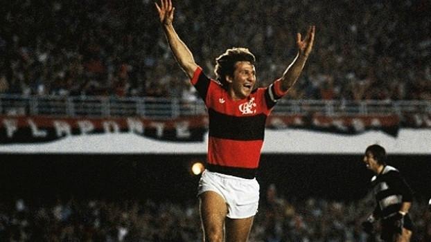 Zico fez 333 gols no Maracanã ( Foto: Divulgação Flamengo)