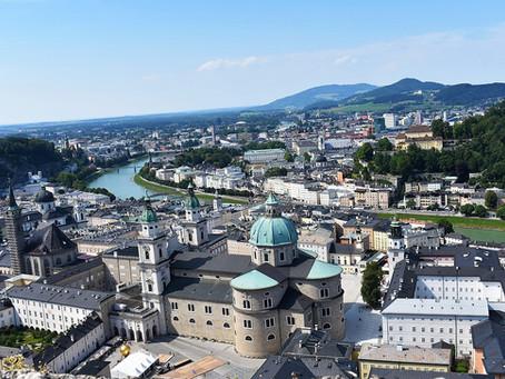 Salzburgo: a Rota Romântica em transporte público vindo da Alemanha