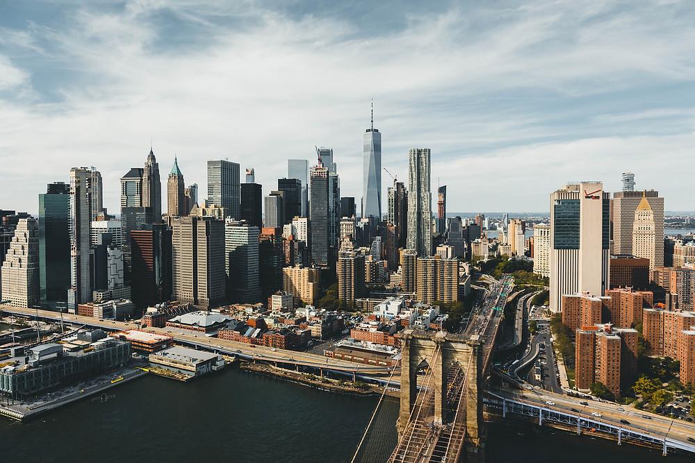 Vista de Manhattan, Pixabay