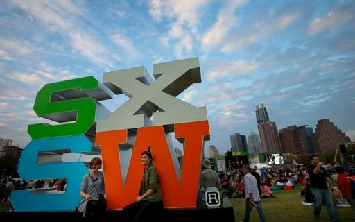 Festival SXSW em Austin no Texas.
