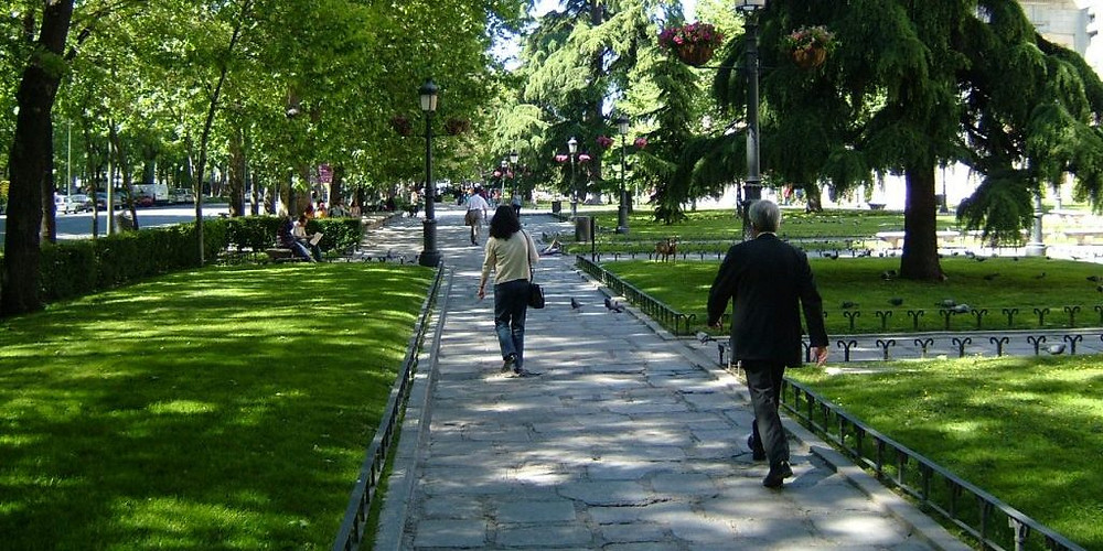 Paseo del Prado em Madrid