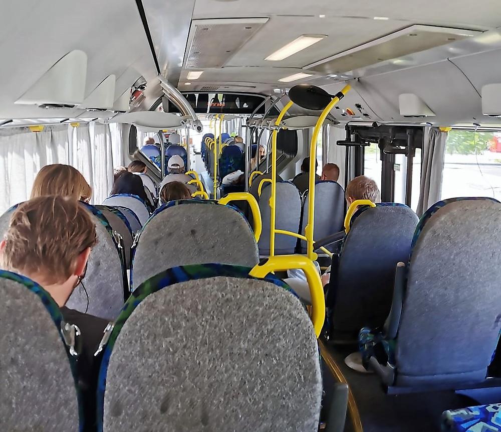 Ônibus mais vazios do Estocolmo