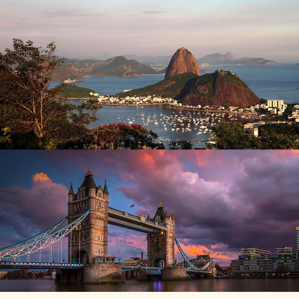 Rio de Janeiro e Londres