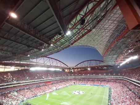 Futebol em Portugal no Estádio da Luz do Benfica