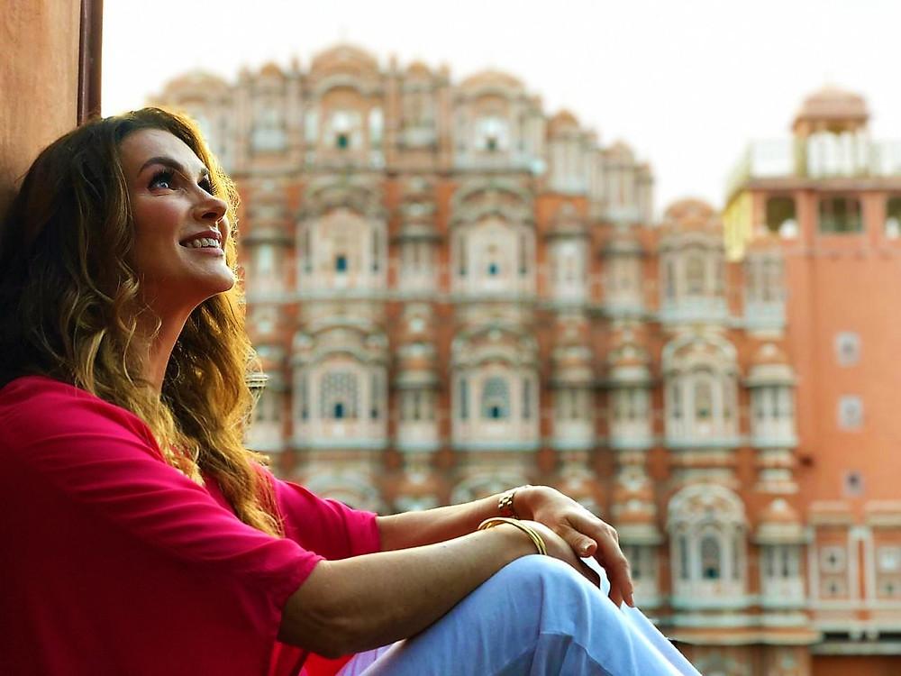 Jaipur, a cidade cor de rosa da Índia e eu, Marcela Baur