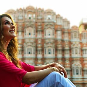 Eu, gratidão e Jaipur na Índia