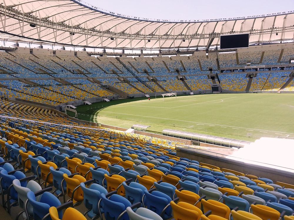 Maracanã antes de uma partida de futebol ( Foto: Guiga Soares)