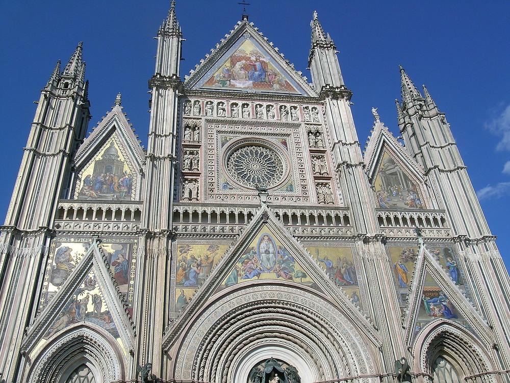 Orvieto, catedral, Itália