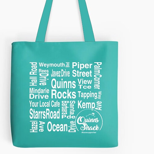 Quinns Shack Cotton Tote Bag