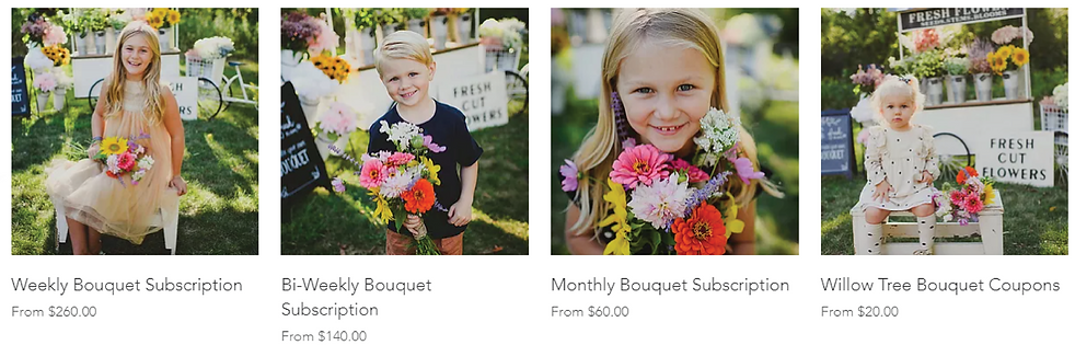 Bouquet subscriptions and orders