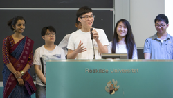 Students as the final keynote 2016