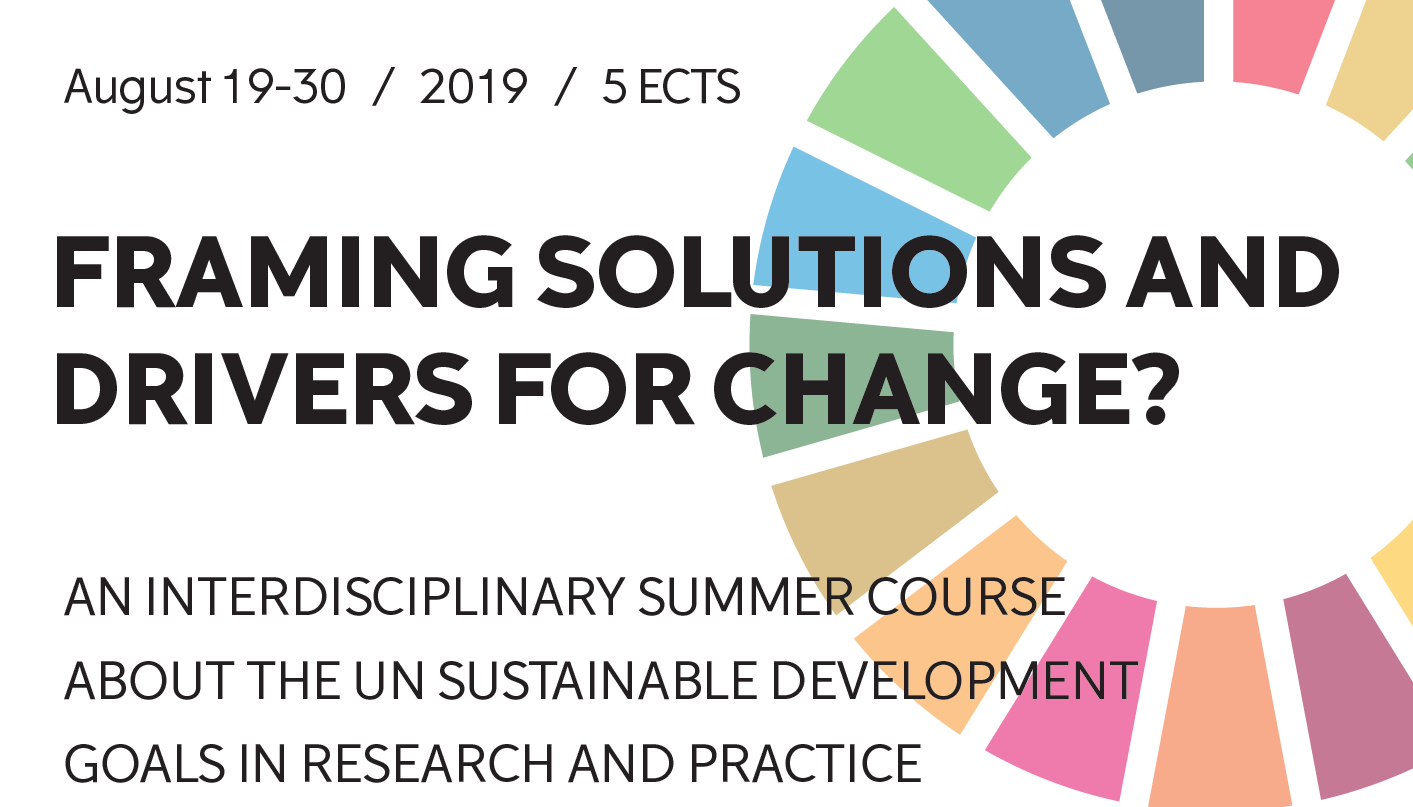 Summer Course on UN SDGs