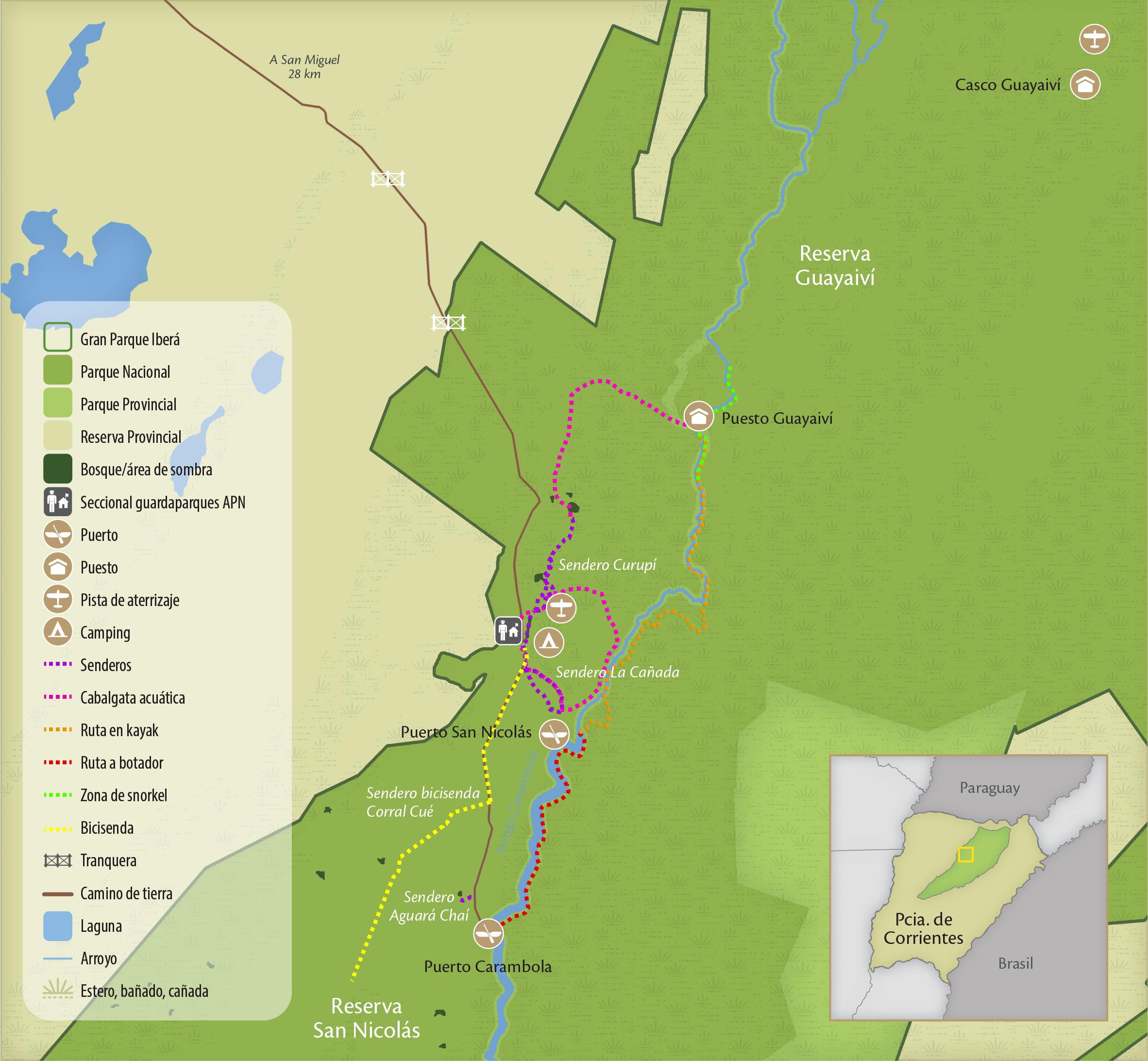 Mapa Portal San Nicolas