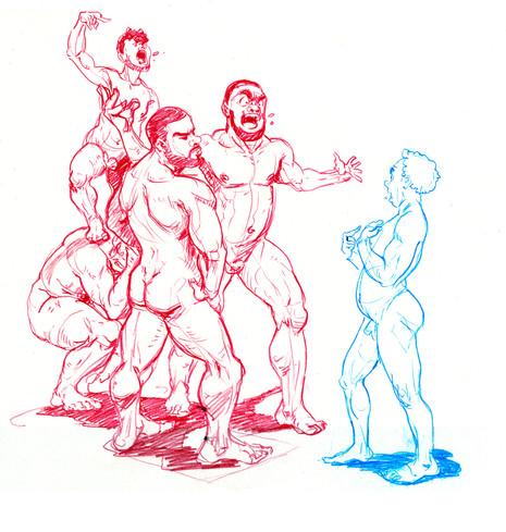 Figure Drawing Sktech