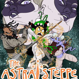 Astral Steppe Manga Cover 2018