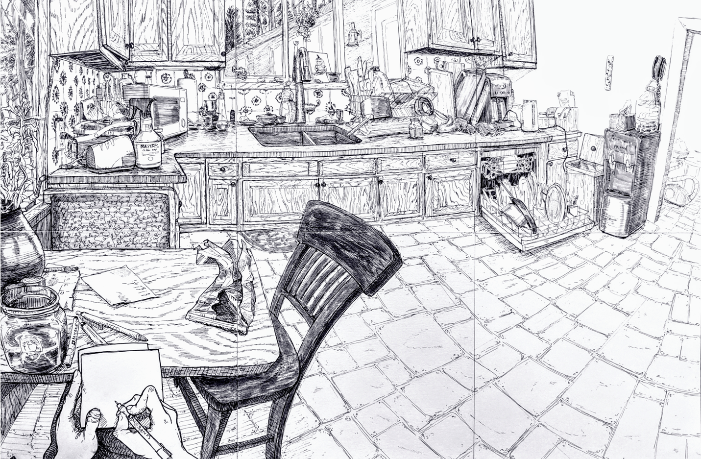 Kitchen Interior Drawing.png