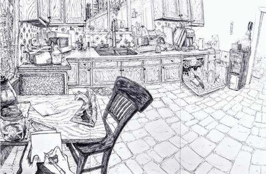 Kitchen Interior Drawing.png