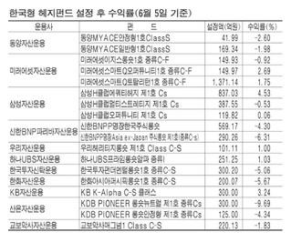 한국형 헤지펀드의 굴욕