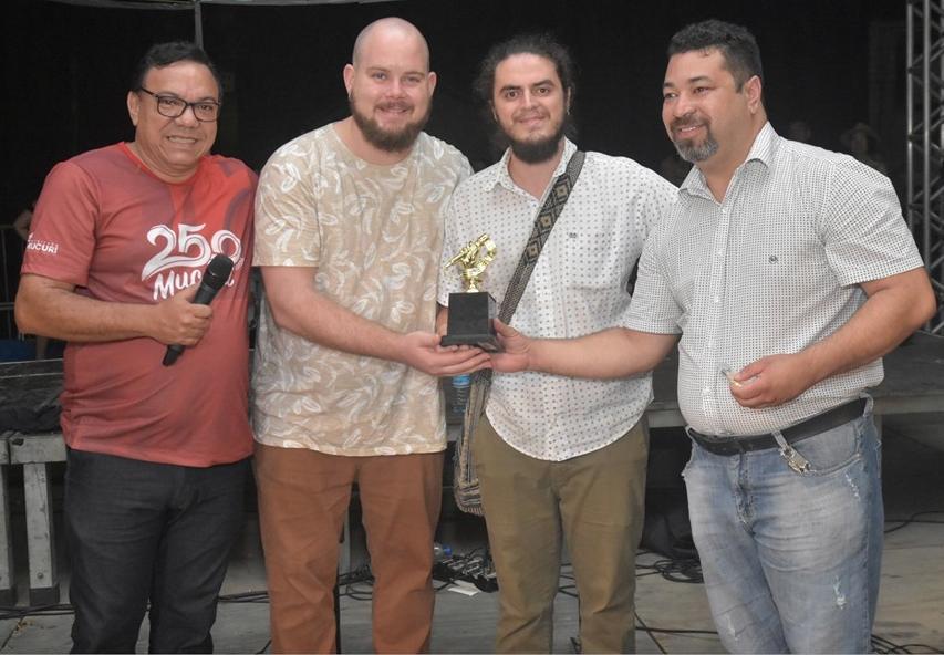 Premiação no I FESCAM - Mucuri, BA