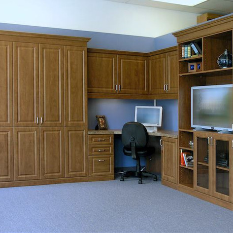 Murphy Bed, Home Office, & Entertainment