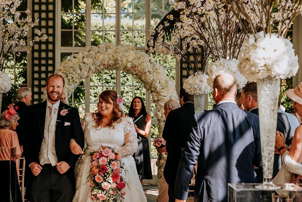 Longleat wedding orangery
