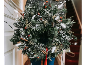 At Home Edition: Winter Festivities: Wreaths