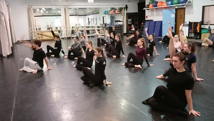 in-studio dance convention class