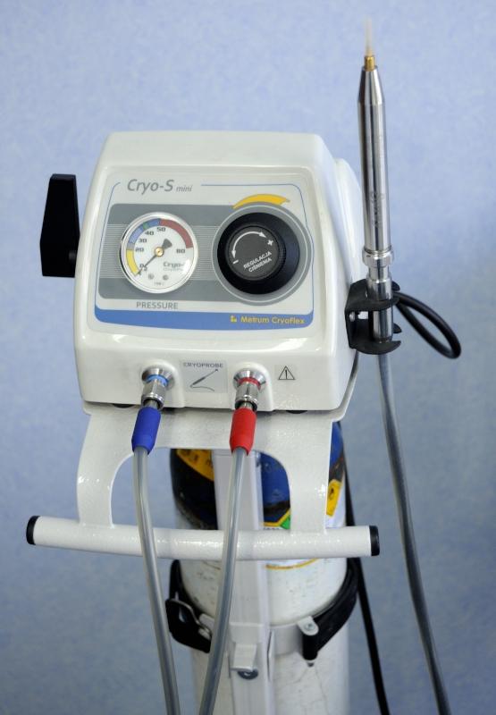 aparat do kriozabiegów