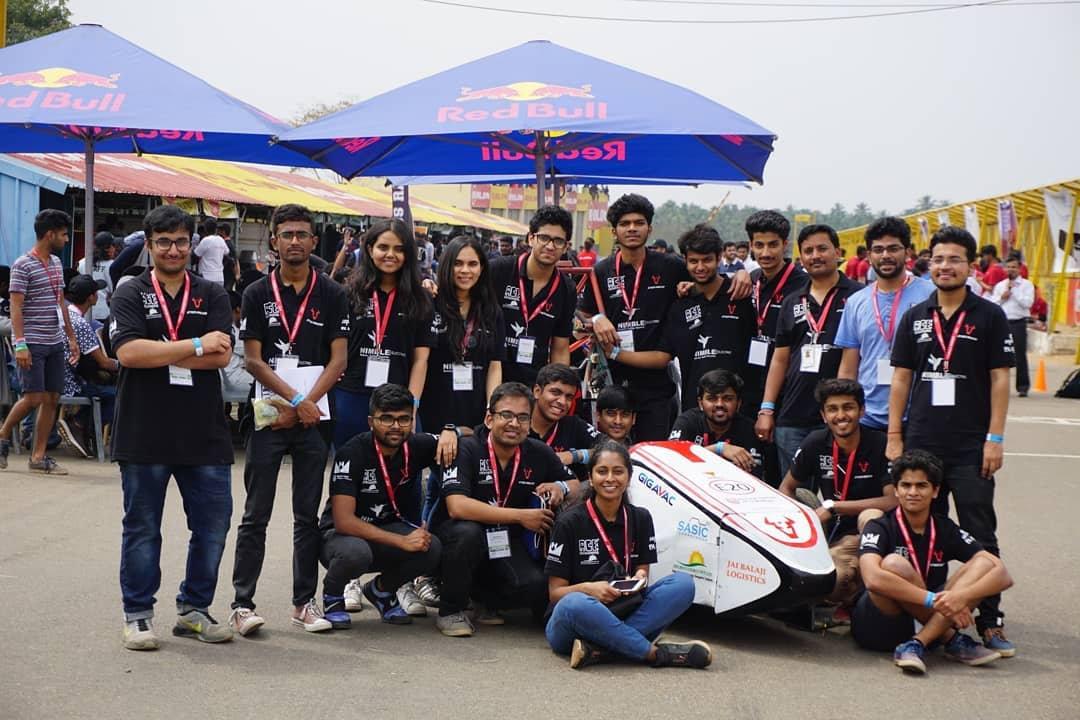 Team for FORMULA BHARAT 2019