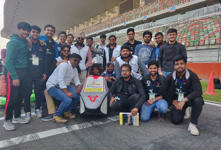 Team for FORMULA GREEN 2019