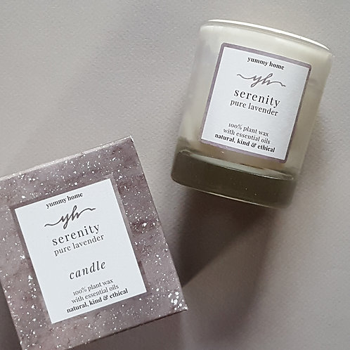 serenity 20cl candle