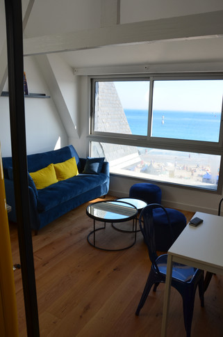 rénovation d'un appartement à Quiberon