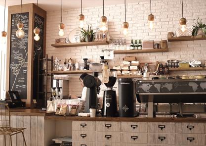 agencement de coffee shop