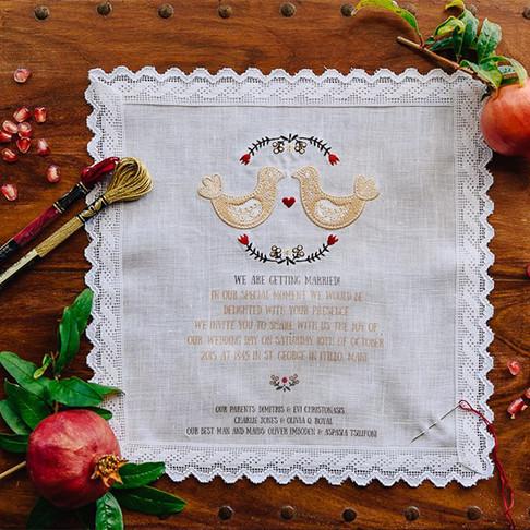Traditional wedding at Mani