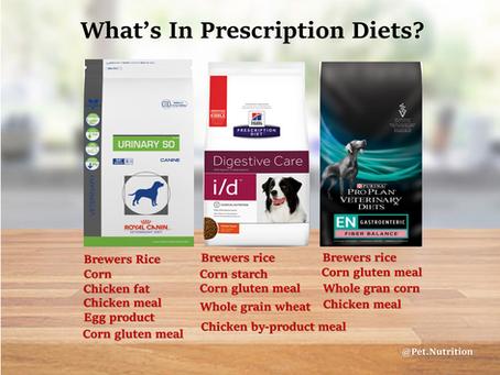 What's in Prescription Diets?