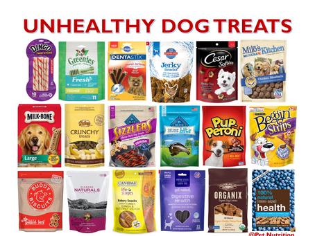 Unhealthy Dog Treats
