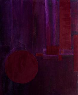 Palette pourpre Tissus, peinture et pigments140/100 cm