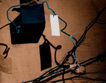 Boites et messages parcouraient les branches reliant les objets lumineux