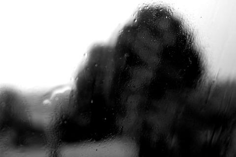 Matière noire paysage pluie 13