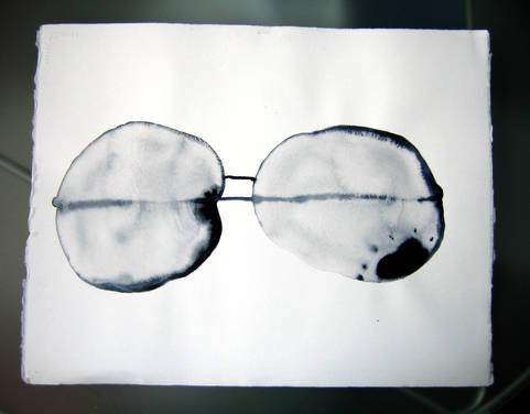 Lumière sur le papier 14 Encre 30/40 cm