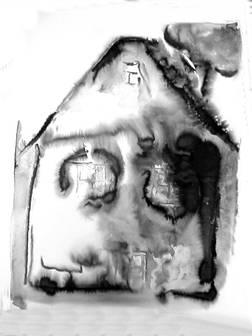 Lumière sur le papier 9 Encre 40/50 cm