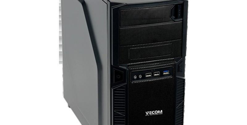 Персональный Компьютер Vecom T2741 Ryzen 5 3600/16Gb/480Gb SSD/GTX1650-4Gb/W10Pr