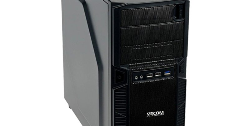 Персональный Компьютер Vecom T2743 Ryzen 5 3600/32Gb/480Gb SSD/Quadro RTX-8G/W10